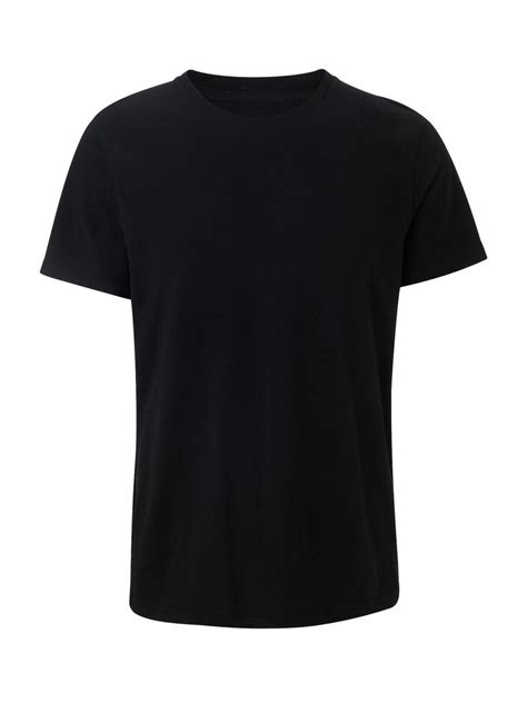 T Shirt Black black crew neck t shirt burton menswear