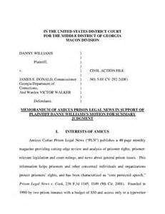 Plaintiff Opening Statement Outline by Pln Amicus Brief Williams V Donald Us District Court Doc Ban On
