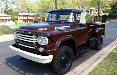 1958 dodge truck for sale 1958 dodge power wagon for sale 1792523 hemmings motor news