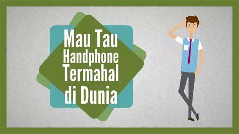 Joran Pancing Termahal Di Dunia handphone termahal 10 daftar handphone termahal di dunia