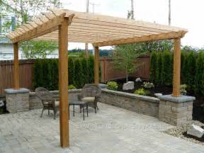 Exterior Patio Triyae Backyard Pergola Designs Various Design
