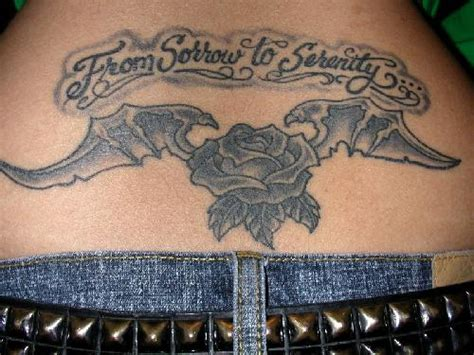 lower back tattoo name designs lower back tribal design with best picture best