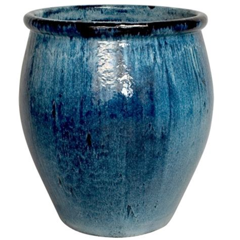 large ceramic planter blue large ceramic planters