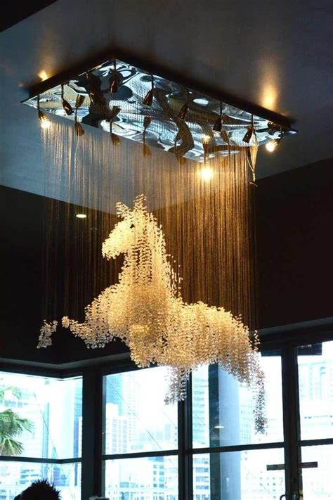 11 diy amazing chandelier ideas chandelier holy cow awesome much for a dining room horses horses horses