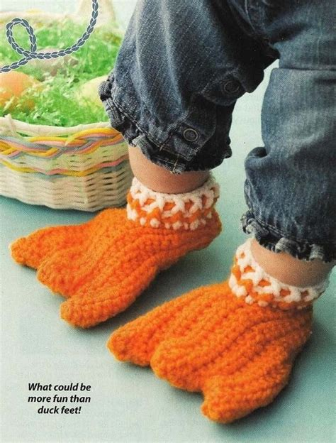 duck slippers for adults y008 crochet pattern only duck only or baby