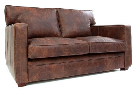 small two seater leather sofa whitechapel vintage leather small two seat sofa from boot