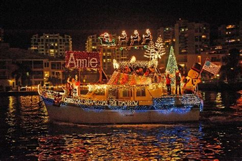 fort lauderdale christmas boat show 2017 world s largest boat parade 46th annual seminole hard