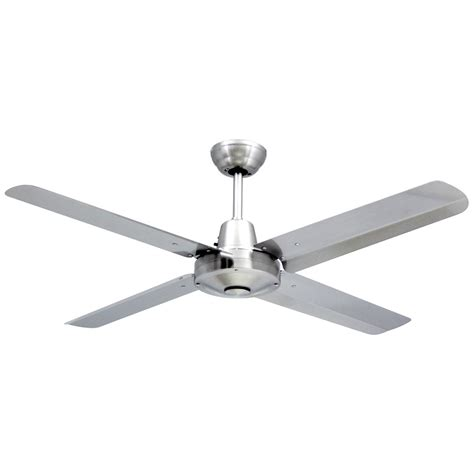 Stainless Steel Ceiling Fans With Lights Brilliant Lighting Vortex 4 48 316 Stainless Steel Ceiling Fan Brilliant Lighting