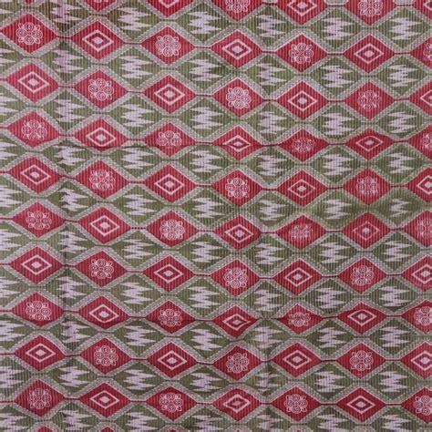 Kain Tenun Ikat Songket Tumpal 8 kain ikat sutera