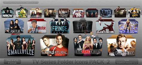 tv series tv series folder icons pack 2 by atty12 on deviantart