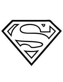 Coloriage Superman Logo &224 Colorier  Dessin Imprimer sketch template