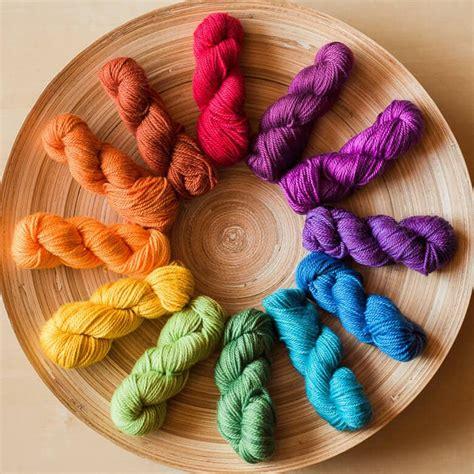 how to start a new skein of yarn when knitting prismatic mini mini yarn set mini skein sets
