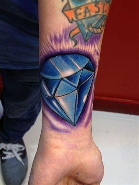 tattoo blue diamond meaning 51 inspiring diamond tattoo designs amazing tattoo ideas