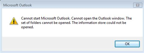 Cannot Start Microsoft Office Outlook Cannot Open The Outlook Window by Cannot Start Microsoft Outlook Cannot Open The Outlook