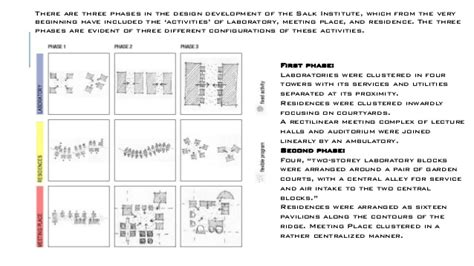 salk institute floor plan louis kahn