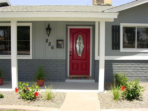 brick house with kelly moore red door 13 favorite front door colors red brickred brick house