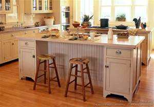 Kitchen Cabinet Island Design Pictures Of Kitchens Traditional Off White Antique