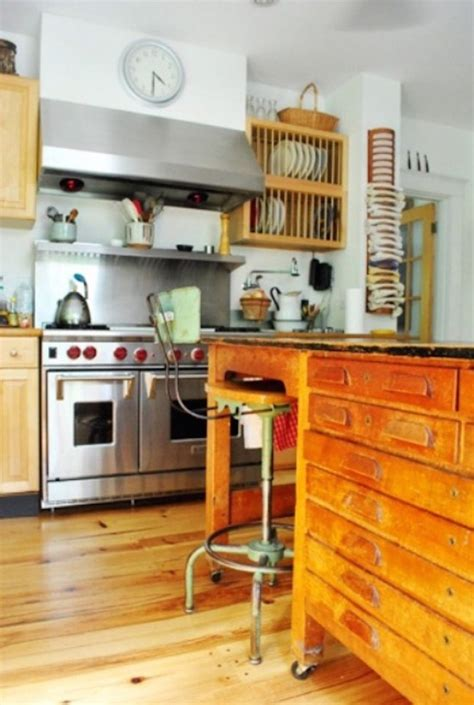 vintage kitchen island ideas 27 vintage wooden kitchen island design ideas interior god