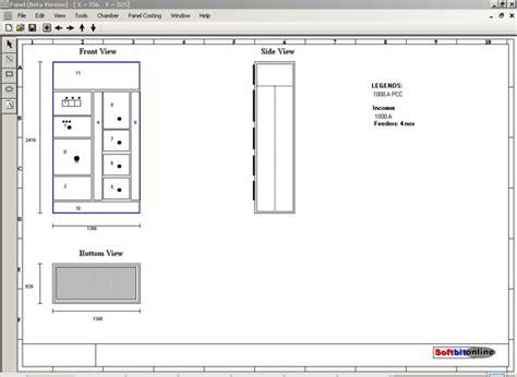 electrical panel layout design softbitonline electrical control panel design software