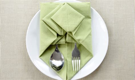 Origami For Napkins - napkin origami 101 for your next dinner