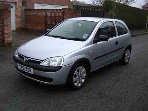 vauxhall silver 2001 vauxhall corsa 12v silver low mileage car for sale