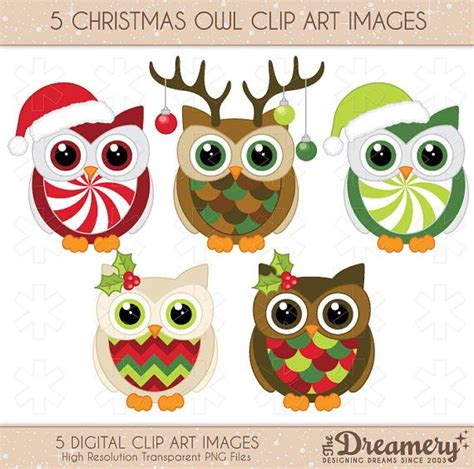 christmas owl pictures 5 owl clip images png instant invitations baby shower