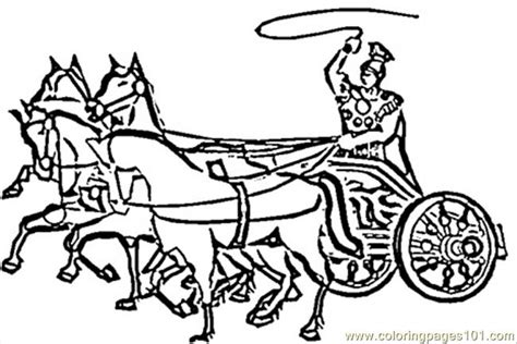 chariot template chariot coloring coloring pages