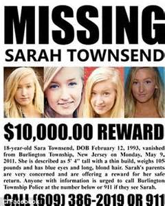 megan park cause of death missing teenage girl sarah townsend found dead after huge