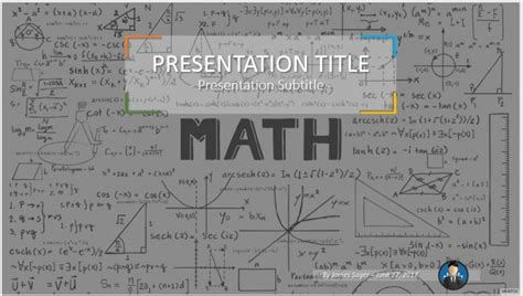 Math Powerpoint Background Templates Cpanj Info Mathematics Powerpoint Templates