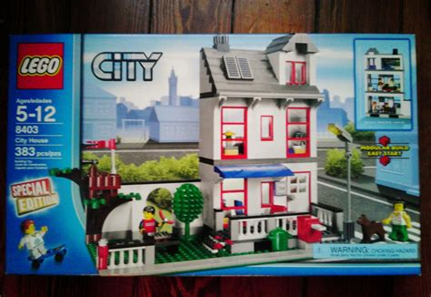 City Set lego set city 8403 special edition city house retired