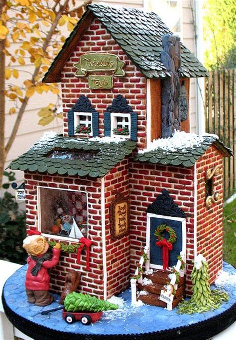 see a gingerbread three decker at bsa space boston magazine gingerbread house idea toy shop recent photos the