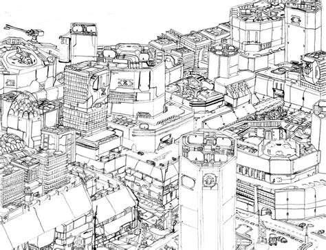 city background coloring page future city by sabrinadblood on deviantart