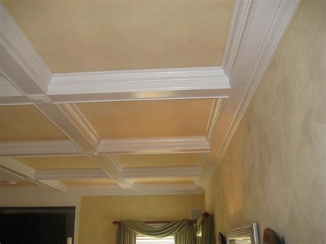 Coffered Ceiling Installation Boxed Ceilings Photos