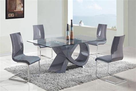 Bien Ikea Chaises Salle A Manger #6: moderne-de-salle-a-manger-table-de-salle-a-manger-design-avec-rallonge-gris.jpg