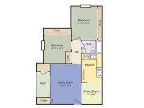 garden apartments 2 bedroom 1 bath 875sqft bramblewood rentals goldsboro nc apartments com