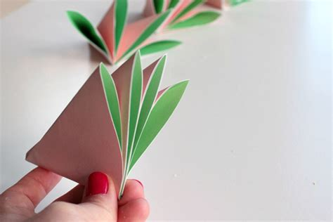 2d Origami Flower - make a bouquet of beautiful paper flowers for s day