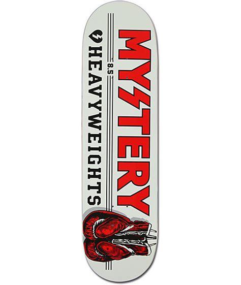 Skateboard Deck Mystery mystery heavyweights 8 5 quot skateboard deck