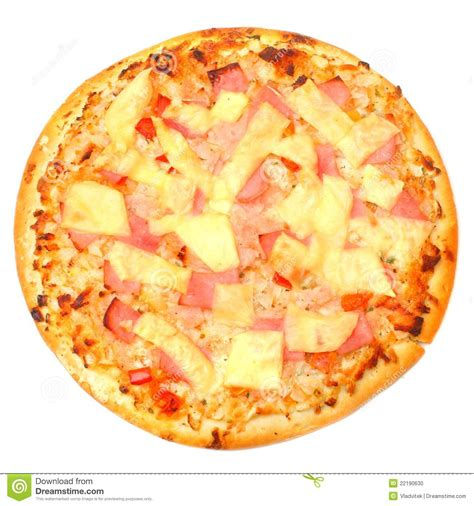Free Kitchen Design Tools by Tasty Ham And Pineapple Pizza Stock Photo Image 22190630