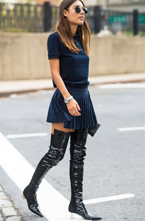 how to wear thigh high boots with a dress boot 2017