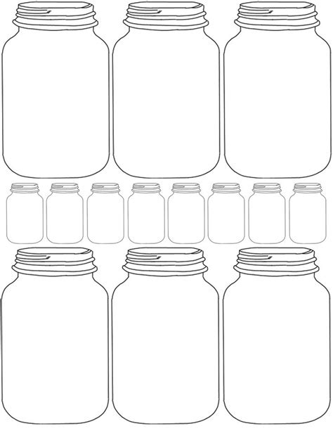 free printable templates for jars 17 best images about free mason jar printables on