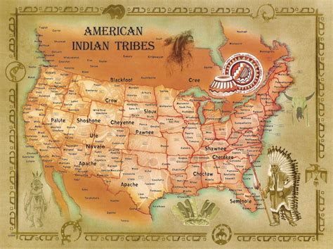 america map indian tribes westward expansion from w3 triton world