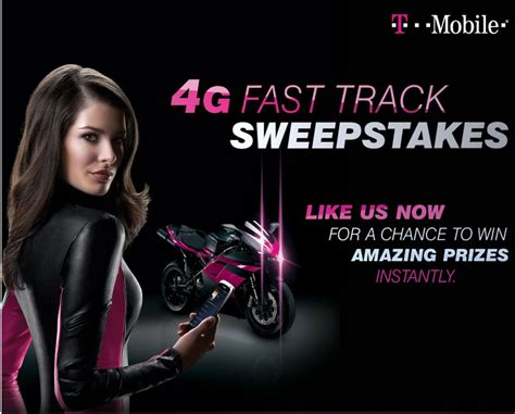 T Mobile Sweepstakes - t mobile 4g fast track sweepstakes mumblebee inc