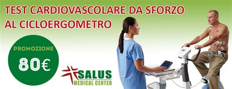 test cardiovascolare da sforzo salus center ladispoli