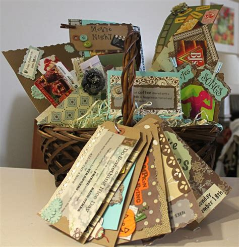 couple date gifts date basket for couples includes some gift cards but mostly date ideas craft ideas