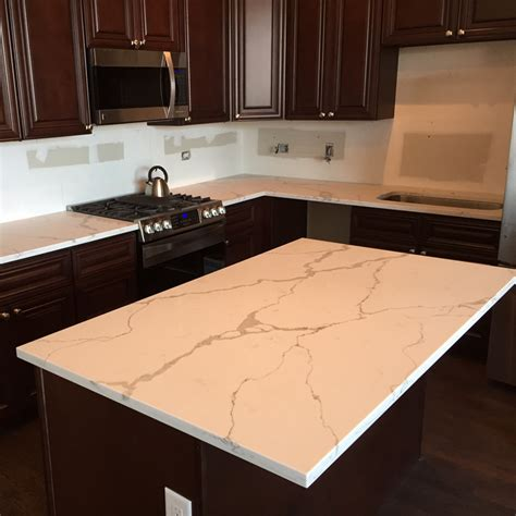 Wholesale Countertops by Calacatta Quartz Countertop China Leading Prefabricated Wholesale Granite Quartz Countertops