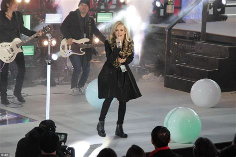 new year performances nyc nyc times square revelers usher in new year with demi
