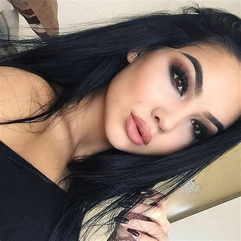 hairstyles on point instagram beautiful cute eyes girl goals hair hot make up