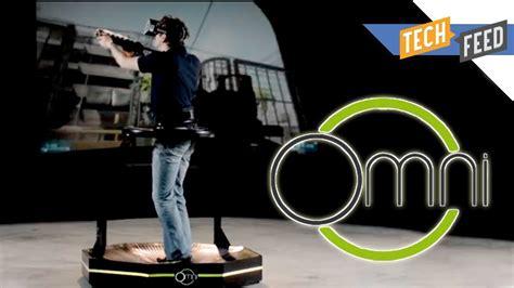 Omni Vr virtuix omni gaming treadmill is here