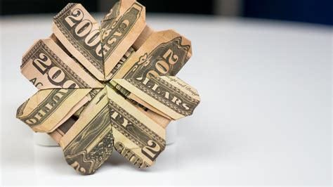 Money Origami Tutorial - money gift idea cloverleaf dollar bill origami tutorial