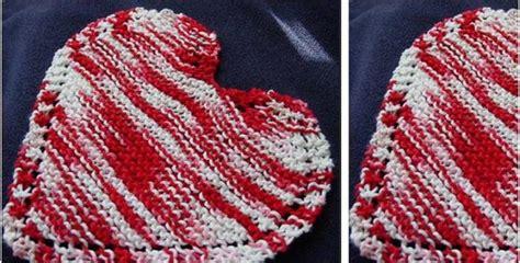 heart shaped dishcloth pattern heart shaped knitted dishcloth free knitting pattern